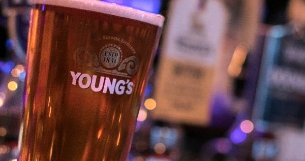 Pint of Young's larger